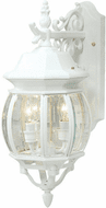 Artcraft AC8361WH Classico Traditional White Outdoor Lighting Sconce