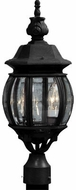 Artcraft AC8363BK Classico Black Exterior Lighting Post Light