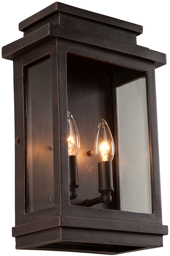 Oil Rubbed Bronze Outdoor Light Sconce