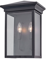 Artcraft AC8462BK Gable Black Exterior Lighting Wall Sconce