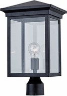 Artcraft AC8463BK Gable Black Outdoor Post Lamp