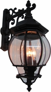 Artcraft AC8491BK Classico Traditional Black Exterior Wall Sconce Lighting