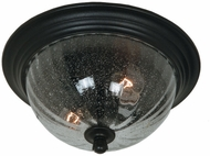 Artcraft AC8566OB Anapolis Modern Oil Rubbed Bronze Exterior Flush Mount Light Fixture