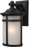 Artcraft AC8641BK St. Moritz Black Exterior 16  Wall Sconce Lighting