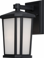 Artcraft AC8771BK Hampton Black Outdoor Wall Lighting Sconce
