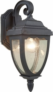 Artcraft AC8911BK Oakridge Traditional Black Outdoor Wall Lamp