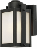 Artcraft AC9061BK Deacon Street LED Outdoor Wall Lamp