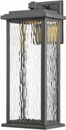 Artcraft AC9071BK Sussex Black LED Outdoor Lighting Sconce