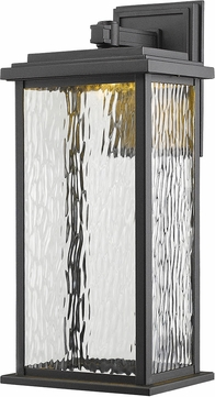 Artcraft AC9072BK Sussex Black LED Outdoor Wall Sconce Lighting
