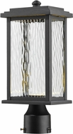 Artcraft AC9073BK Sussex Black LED Outdoor Post Lighting