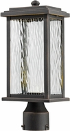 Artcraft AC9073OB Sussex Oil Rubbed Bronze LED Exterior Post Lamp