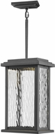 Artcraft AC9075BK Sussex Drive Modern Black LED Exterior Mini Pendant Lighting