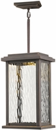 Artcraft AC9075OB Sussex Drive Contemporary Oil Rubbed Bronze LED Exterior Mini Pendant Light