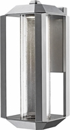 Artcraft AC9091SL Wexford Contemporary Silver LED Exterior Wall Lighting Sconce