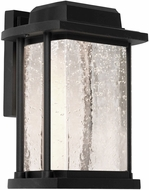 Artcraft AC9120BK Addison Black LED Exterior Wall Light Sconce