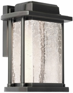 Artcraft AC9120SL Addison Silver Leaf LED Outdoor Wall Sconce Light