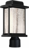 Artcraft AC9123BK Addison Black LED Exterior Pole Lighting Fixture