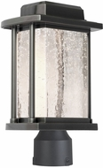 Artcraft AC9123SL Addison Silver Leaf LED Outdoor Post Lighting