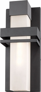 Artcraft AC9150BK Camden Contemporary Black LED Exterior Wall Mounted Lamp