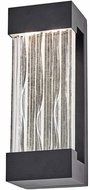 Artcraft AC9160BK Watercrest Contemporary Black LED Exterior Wall Lighting Fixture