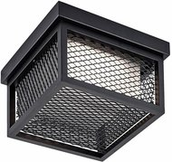 Artcraft AC9176BK Innovation Modern Black LED Outdoor Ceiling Light