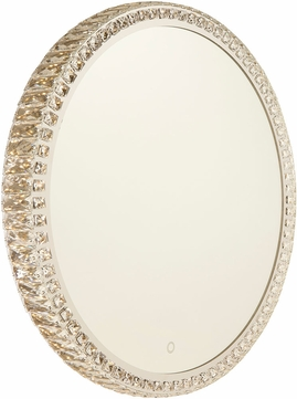 Artcraft AM306 Reflections Contemporary Crystal LED Wall Mirror