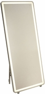Artcraft AM311 Reflections Contemporary Brushed Aluminum LED Wall Mounted Mirror