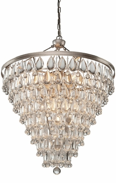 Artcraft CL15010 Pebble Contemporary Halogen Chandelier Lighting