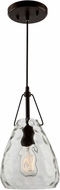 Artcraft CL15060OB Artisan Contemporary Oil Rubbed Bronze Mini Hanging Light Fixture