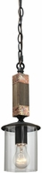 Artcraft JA481 Hockley Copper Mini Hanging Pendant Light