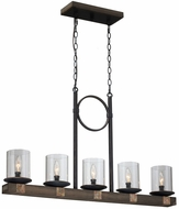 Artcraft JA485 Hockley Copper Kitchen Island Lighting