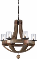 Artcraft JA486 Hockley Copper Chandelier Lighting