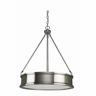 Artcraft SC13044BN Eastwick Modern Brushed Chrome Pendant Hanging Light