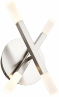 Artcraft SC13094SN Twig Modern Satin Nickel LED Lamp Sconce
