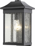 Artcraft SC13101BK Morgan Black Outdoor Wall Sconce Light