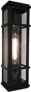 Artcraft SC13112BK Granger Square Traditional Black LED Exterior 20  Wall Sconce Lighting