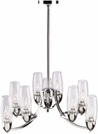 Artcraft SC13159CH Trilogy Chrome Mini Chandelier Lighting