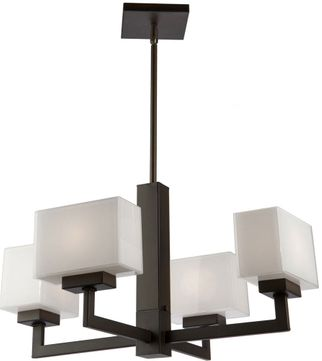 Artcraft SC13184OB Cube Light Oil Rubbed Bronze Halogen Mini Lighting Chandelier