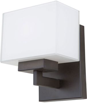 Artcraft SC13187OB Cube Light Oil Rubbed Bronze Halogen Wall Lamp