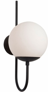 Artcraft SC13227BK Moonglow Modern Matte Black Wall Sconce Lighting
