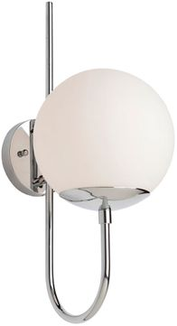 Artcraft SC13227PN Moonglow Contemporary Polished Nickel Wall Light Fixture