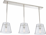 Artcraft SC13231 Caf� Contemporary Chrome Multi Ceiling Pendant Light