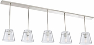 Artcraft SC13235 Caf� Contemporary Chrome Multi Drop Lighting Fixture