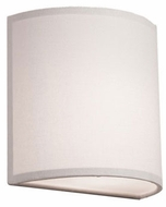Artcraft SC526WH Mercer Street Contemporary White Light Sconce