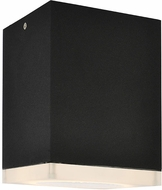 Avenue Lighting AV9889-BLK Avenue Outdoor Contemporary Black LED Outdoor 6.5  Light Sconce