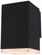 Avenue Lighting AV9890-BLK Avenue Outdoor Contemporary Black LED Outdoor 8  Lamp Sconce