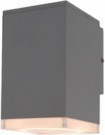 Avenue Lighting AV9890-SLV Avenue Outdoor Modern Silver LED Exterior 8  Wall Sconce Lighting