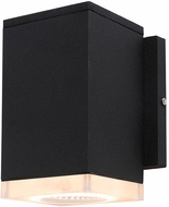 Avenue Lighting AV9891-BLK Avenue Outdoor Contemporary Black LED Outdoor 6.3  Wall Light Fixture