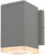 Avenue Lighting AV9891-SLV Avenue Outdoor Modern Silver LED Exterior 6.3  Lighting Wall Sconce