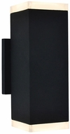 Avenue Lighting AV9894-BLK Avenue Outdoor Contemporary Black LED Outdoor 10  Wall Lighting Fixture